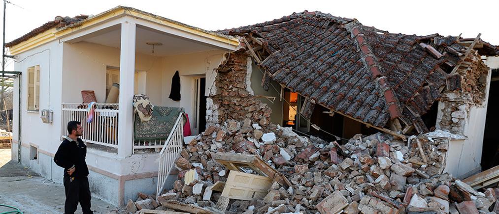 Σεισμός στη Θεσσαλία: Μη κατοικήσιμα σχεδόν 900 σπίτια (βίντεο)