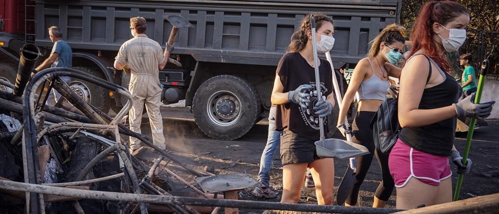 Μεγάλο κύμα αλληλεγγύης για τους πυρόπληκτους της Αττικής από τη Γερμανία