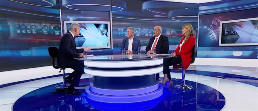 Το debate Κούλογλου – Μιχαλολιάκου – Καϊλή στον ΑΝΤ1