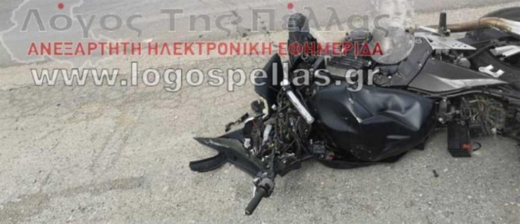 Νεκρός μοτοσικλετιστής ανήμερα των γενεθλίων του (εικόνες)