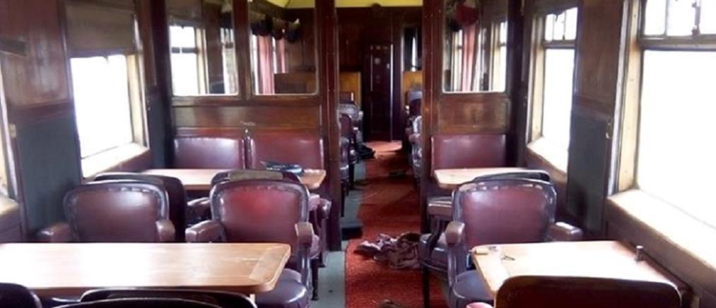 """Βανδάλισαν βαγόνι του θρυλικού """"Orient Express"""""""