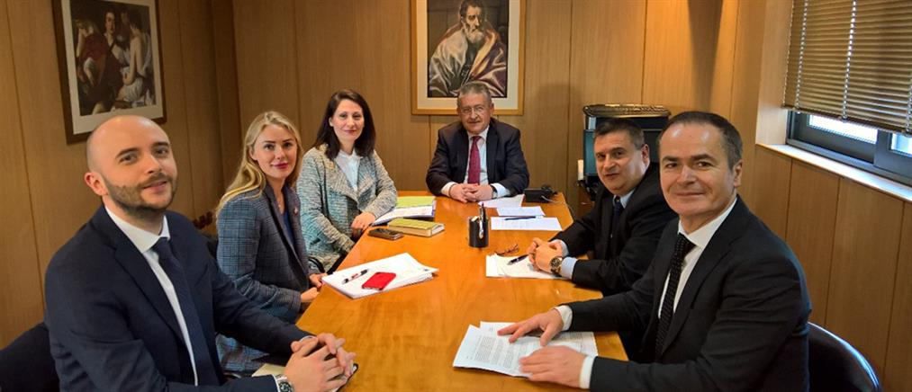 Η διαφθορά στο επίκεντρο συνάντησης κλιμακίου του Συμβουλίου της Ευρώπης με το ΣΕΕΔΔ