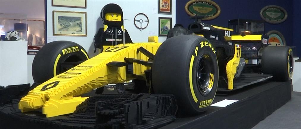 """""""Χρυσός"""" για το αυτοκίνητο της Formula 1 από Lego (βίντεο)"""