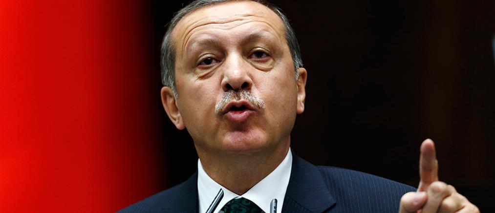 Νέες απειλές Ερντογάν: βόμβες θα εκρήγνυνται, όπλα θα βρέχουν θάνατο