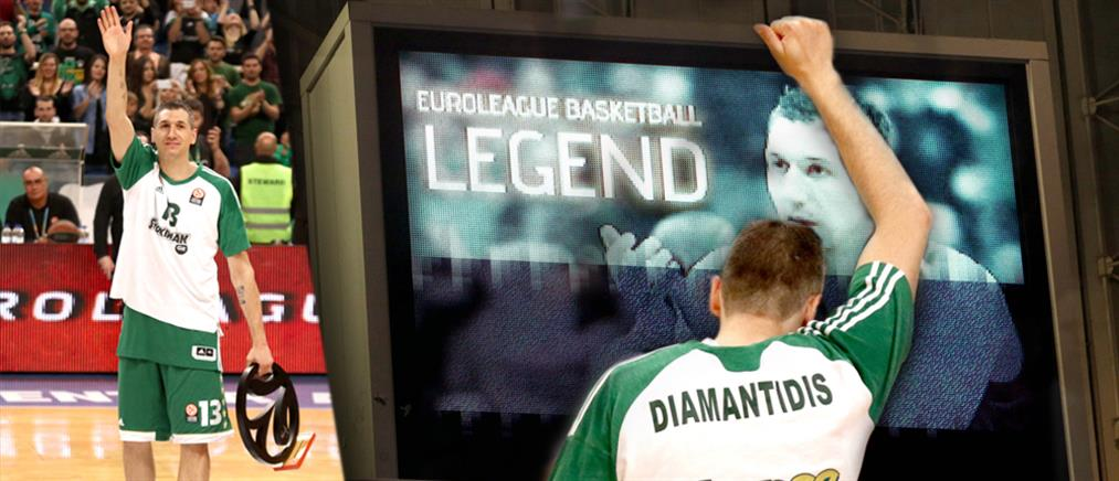 Euroleague: Στην κορυφαία ομάδα της 10ετίας ο Διαμαντίδης (βίντεο)