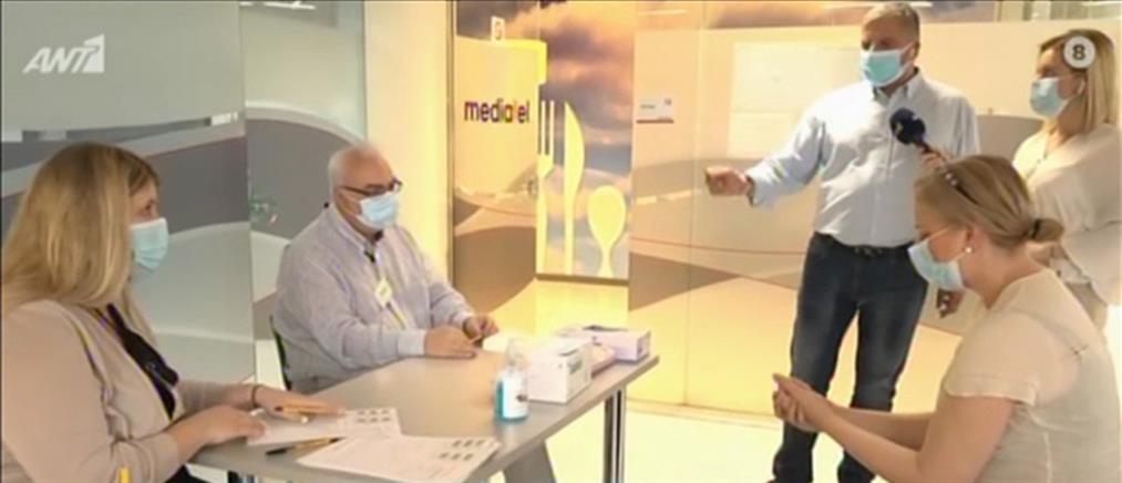 Κορονοϊός: ο Γιώργος Πατούλης στον ΑΝΤ1 για τα τεστ από κινητά συνεργεία (βίντεο)