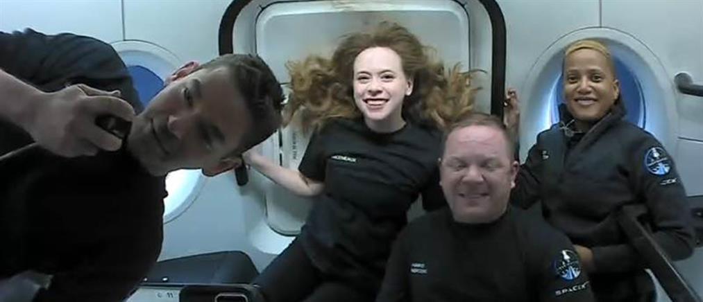 Διάστημα: Νέο ρεκόρ ταυτόχρονης παρουσίας 14 ανθρώπων (εικόνες)