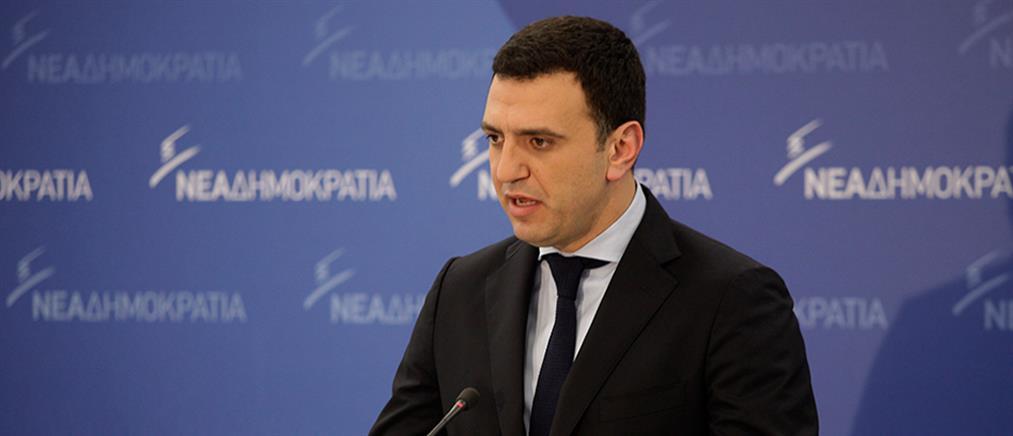 Κικίλιας: η γραβάτα του Τσίπρα είναι θηλιά για όλους τους Έλληνες