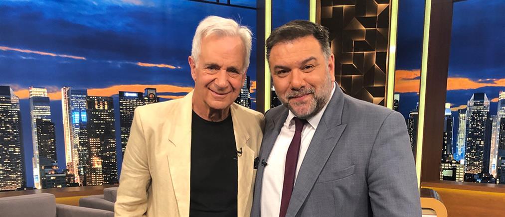 """Αλέξανδρος Αντωνόπουλος στο """"The 2Night Show"""": Το τρομακτικό ατύχημα και τα εσώρουχα της Κάλλας"""