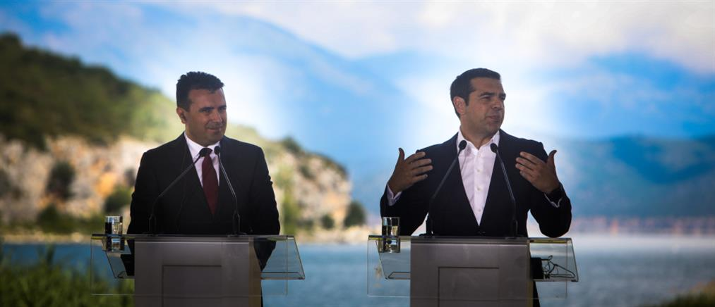Ζάεφ: οι εκλογές στην Ελλάδα δεν... απειλούν την Συμφωνία των Πρεσπών