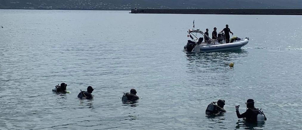 """Εξαφάνιση στην Καλαμάτα: δύτες """"σάρωσαν"""" το λιμάνι για τον αγνοούμενο (εικόνες)"""