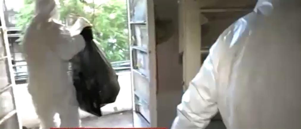 """Αυτοψία του ΑΝΤ1 στο κτήριο – """"σκουπιδότοπο"""" στην Λιοσίων (βίντεο)"""