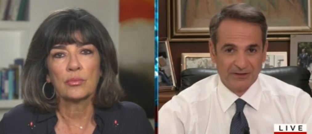 Μητσοτάκης στο CNN: δεν θα μείνουν αναπάντητες οι τουρκικές προκλήσεις (βίντεο)