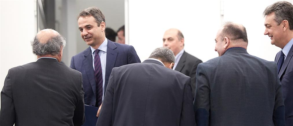 Μητσοτάκης με δημάρχους για την απλή αναλογική και την στήριξη των ΟΤΑ