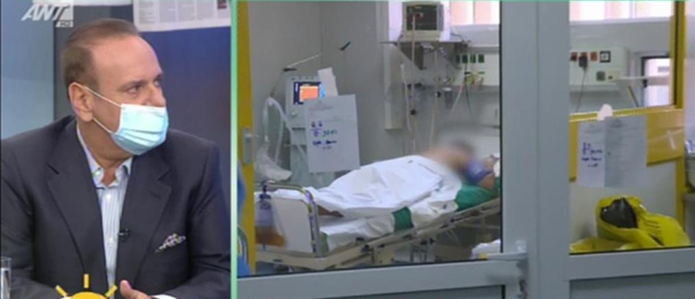 Γιατρός που νόσησε με κορονοϊό περιγράφει στον ΑΝΤ1 την περιπέτειά του (βίντεο)