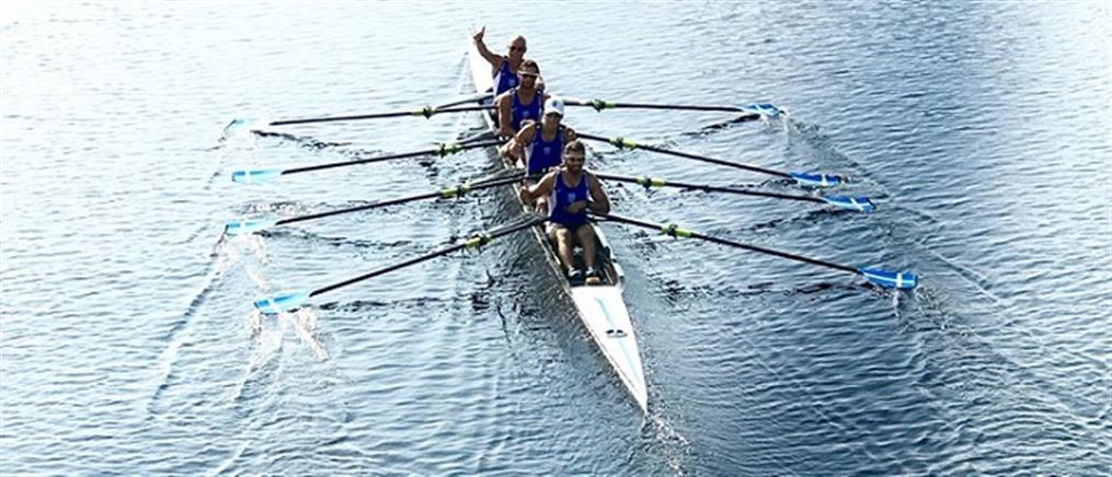 """Ελληνικά """"κουπιά"""" για μετάλλιο στο Παγκόσμιο Πρωτάθλημα"""