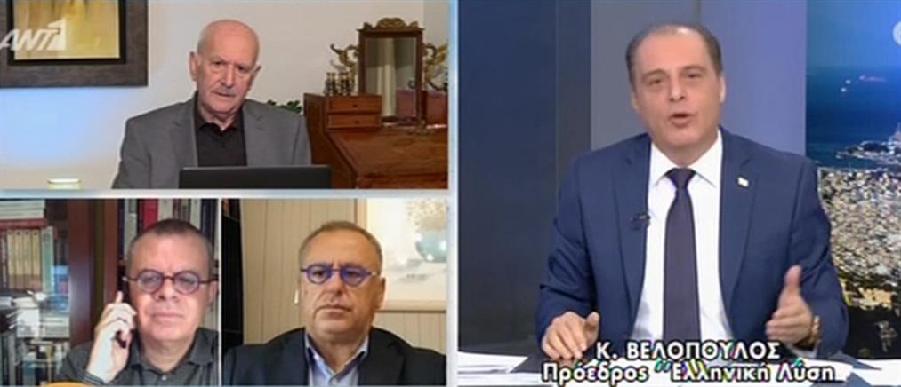 Βελόπουλος στον ΑΝΤ1: η κυβέρνηση τρέχει πίσω από τα προβλήματα (βίντεο)