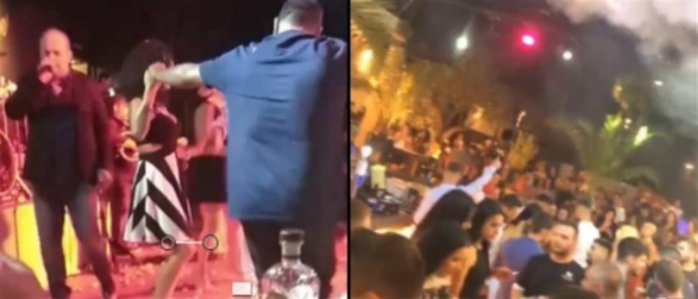 Κορονοϊός: To... αδιαχώρητο σε κλαμπ και νυχτερινά κέντρα στην Χαλκίδα (βίντεο)