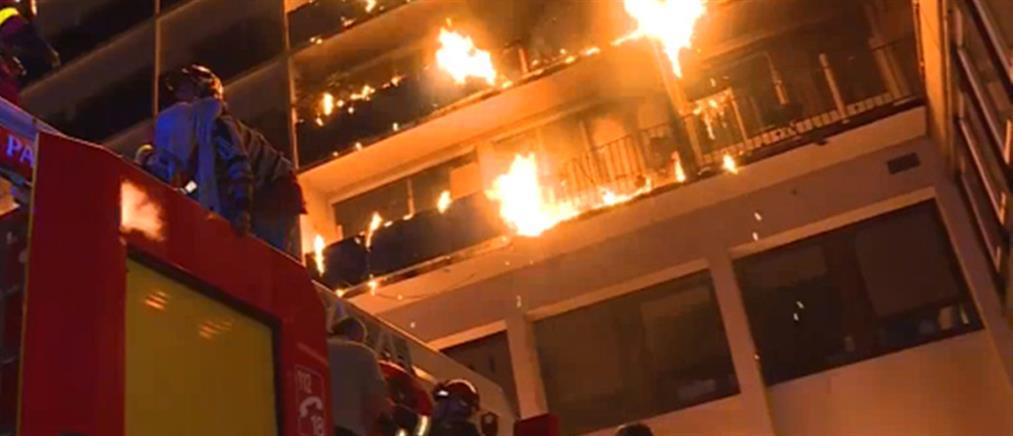 Φονική πυρκαγιά σε νοσοκομειακό συγκρότημα