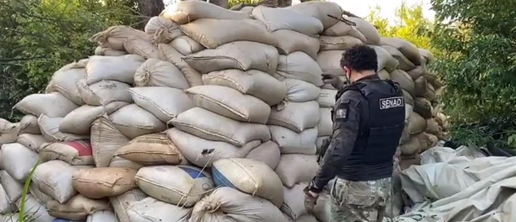 """Κατάσχεση """"μαμούθ"""" 23 τόνων κοκαΐνης"""