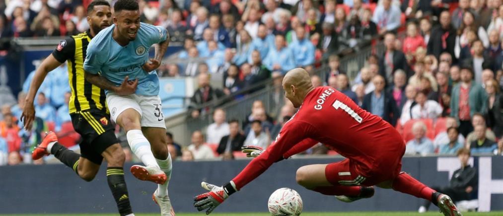 """Κύπελλο Αγγλίας: """"πολυβόλο"""" η Μάντσεστερ Σίτι """"γάζωσε"""" τη Γουότφορντ"""