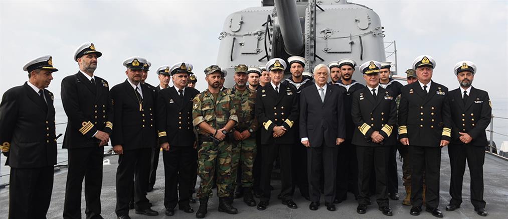 Παυλόπουλος: οι Ένοπλες Δυνάμεις είναι αφοσιωμένες στη Δημοκρατία