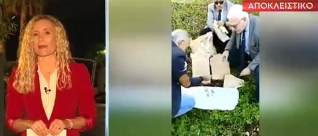 Αρχαιολογικός θησαυρός βρέθηκε μέσα σε τσουβάλια (βίντεο)