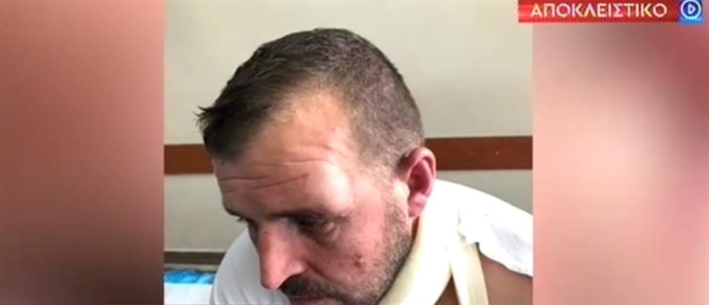 Αποκλειστικό ΑΝΤ1: εργάτης έπεσε θύμα ξυλοδαρμού από επίδοξους ληστές (βίντεο)