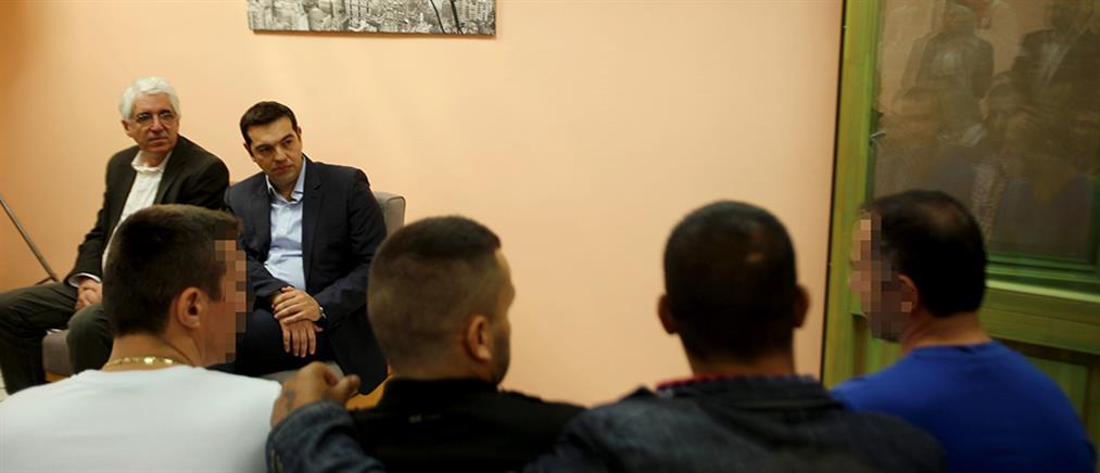 Εγκαίνια μονάδας απεξάρτησης στις φυλακές Διαβατών από τον Πρωθυπουργό
