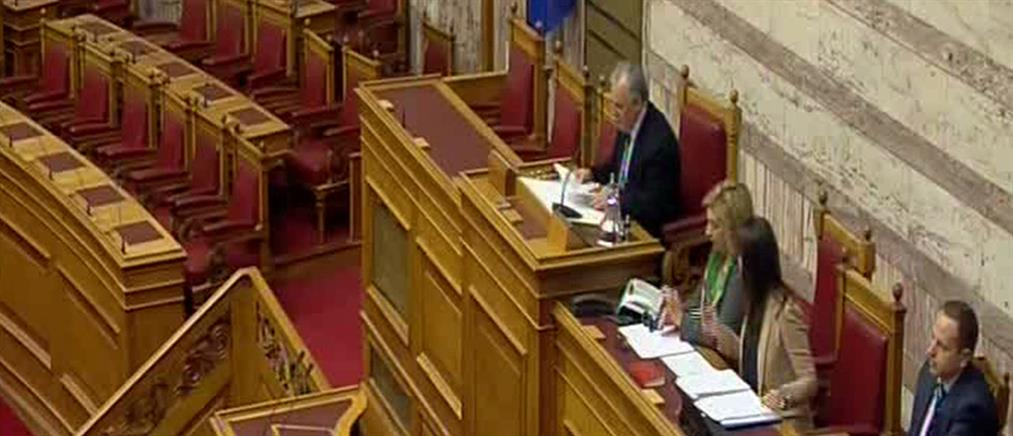 Ουδείς υπουργός ή υφυπουργός δεν πάτησε στη Βουλή
