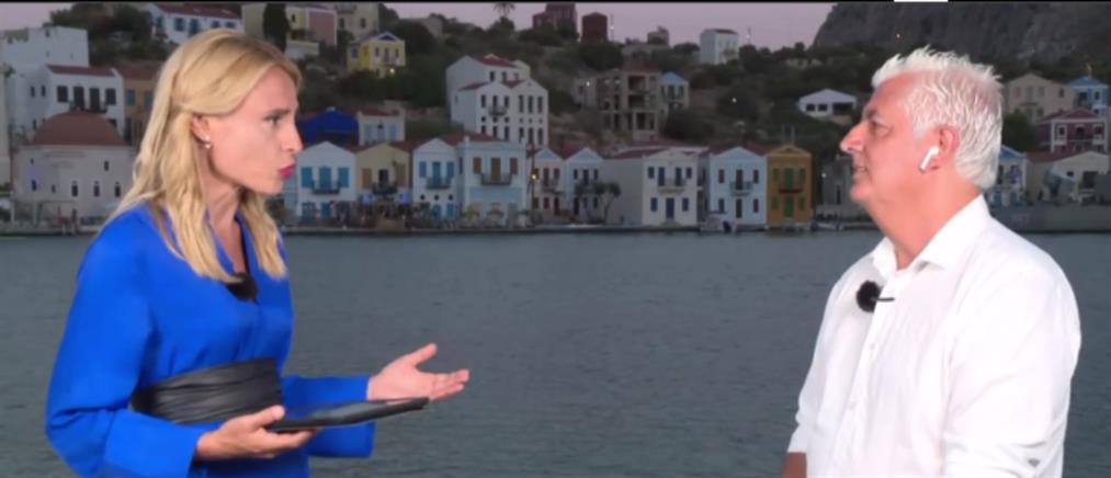 Καστελλόριζο - Αμύγδαλος: το νησί αναγεννάται από τις στάχτες του
