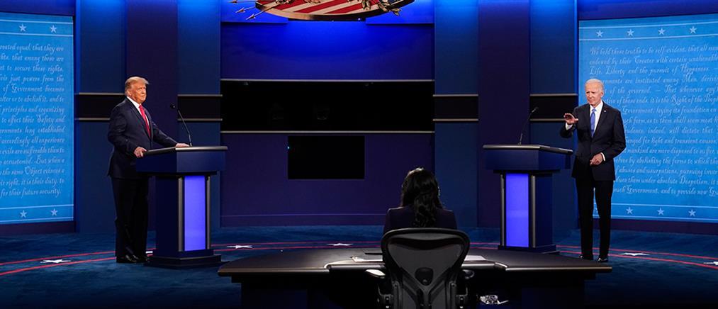 ANT1: το δεύτερο debate Τραμπ – Μπάιντεν για τις αμερικανικές εκλογές