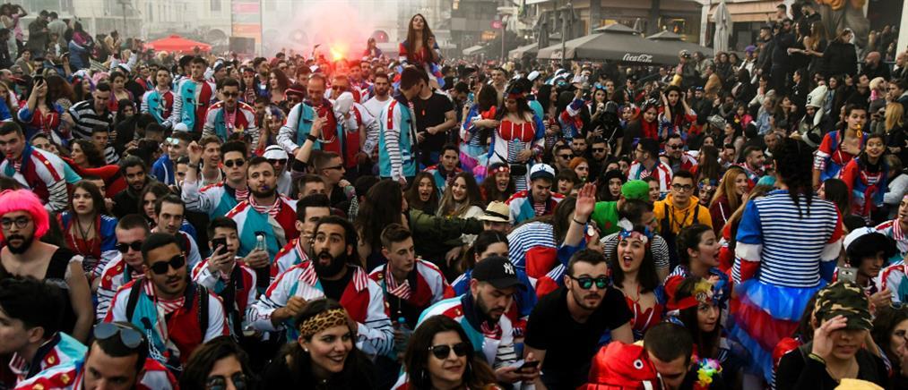 Δεκάδες συλλήψεις κατά τη διάρκεια του καρναβαλιού στην Πάτρα!