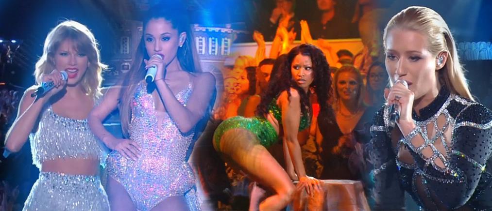 Όλα όσα έγιναν στη λαμπερή τελετή των MTV Video Music Awards