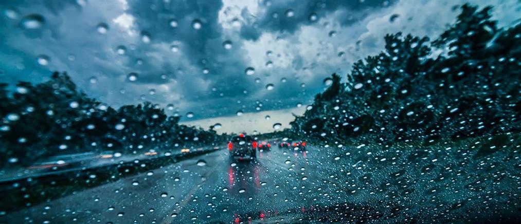 Καιρός: ισχυρές βροχές και σποραδικές καταιγίδες την Πέμπτη