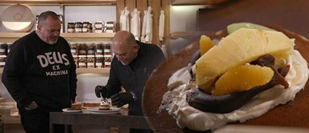 """""""Γειτονιές στο πιάτο"""": ο Δημήτρης Σκαρμούτσος γυρίζει στο Κολωνάκι"""