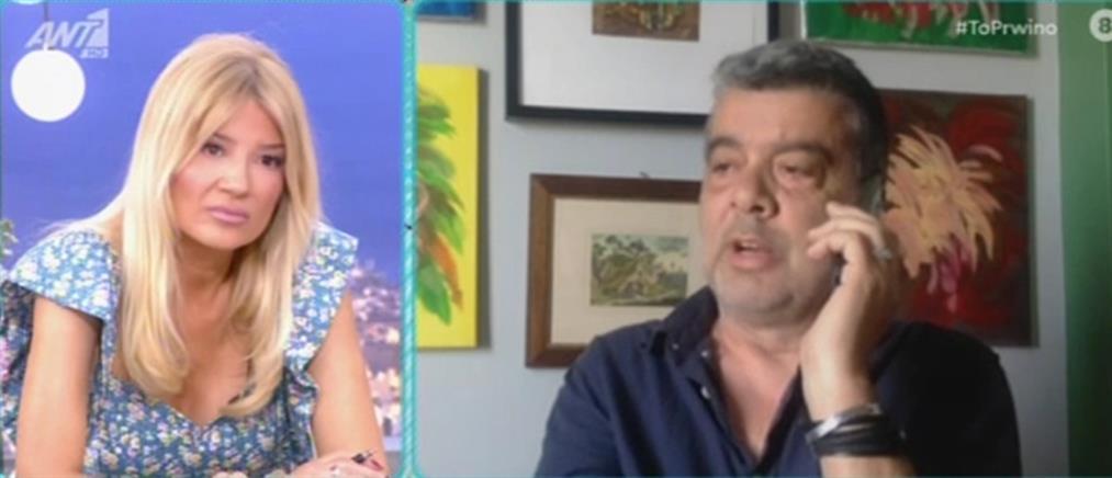 Σπύρος Μιχαλόπουλος για τις καταγγελίες ηθοποιών: Βλέπαμε και δεν μιλούσαμε (βίντεο)