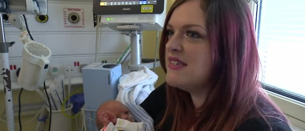 Επέμβαση στη σπονδυλική στήλη αγέννητου βρέφους (βίντεο)