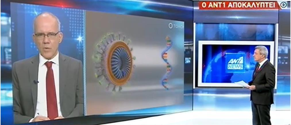 Αποκάλυψη ΑΝΤ1: 300 έλεγχοι την εβδομάδα για μεταλλάξεις του κορονοϊού (βίντεο)