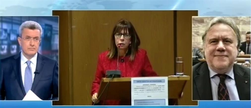 Κατρούγκαλος στον ΑΝΤ1: με θεσμικό ατόπημα η πρόταση Μητσοτάκη για την Αικατερίνη Σακελλαροπούλου (βίντεο)