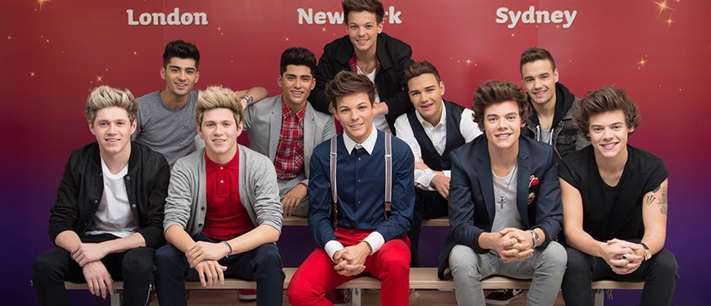 Κέρινα ομοιώματα των μελών του συγκροτήματος One Direction