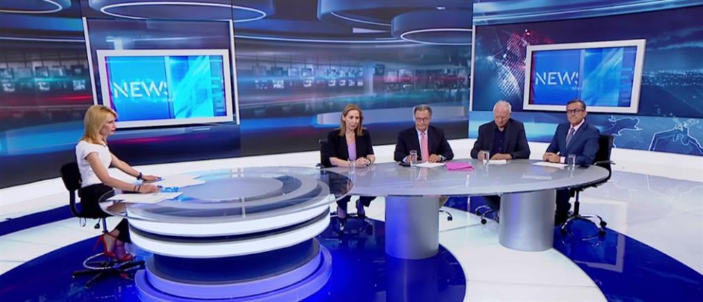 Εκλογές 2019: Ξενογιαννακοπούλου, Παναγιωτόπουλος, Χαρδαβέλλας και Νικολόπουλος στον ΑΝΤ1 (βίντεο)