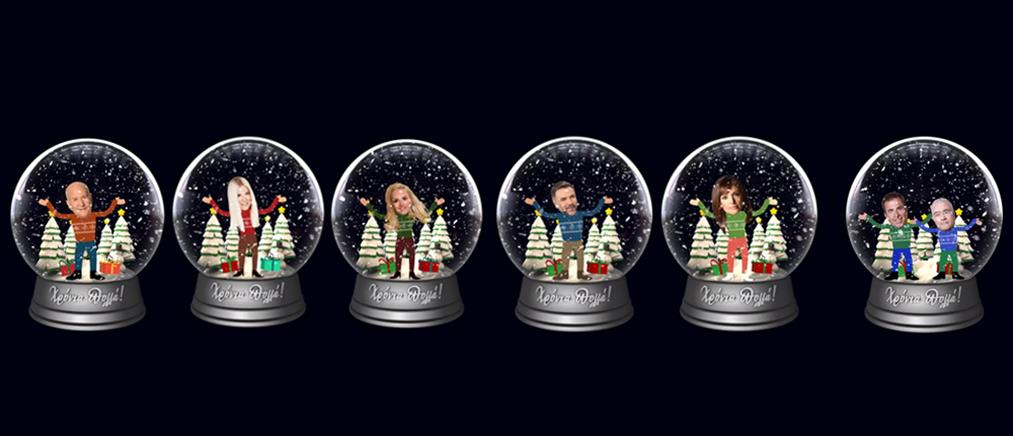 Ο ΑΝΤ1 γεμίζει με χιονόμπαλες τα social media! (εικόνες)