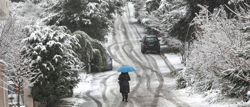 """""""Λέανδρος"""": παγετός και τοπικές βροχές την Τρίτη"""