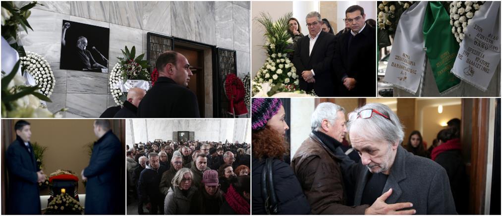 Θάνος Μικρούτσικος: Τελευταίο χειροκρότημα για τον μεγάλο συνθέτη (εικόνες)