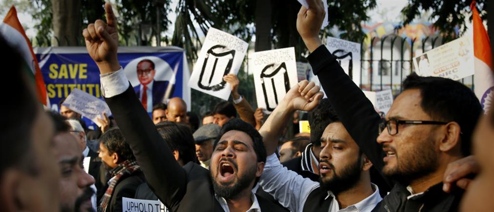 """""""Τσουνάμι"""" συλλήψεων στην Ινδία (Εικόνες)"""