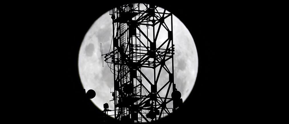 Δίκτυο κινητής τηλεφωνίας στο φεγγάρι