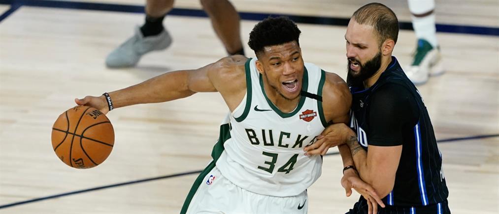 NBA: Νίκη των Μπακς με ηγέτη τον Αντετοκούνμπο