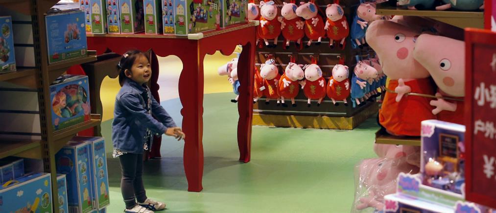 """Η Κίνα θα γιορτάσει τη """"Χρονιά του Χοίρου"""" με… την Πέππα το Γουρουνάκι"""