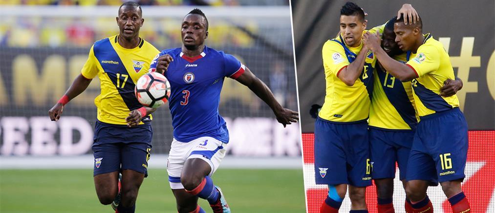 "Copa America: Πανηγυρικά στους ""8"" το Εκουαδόρ"